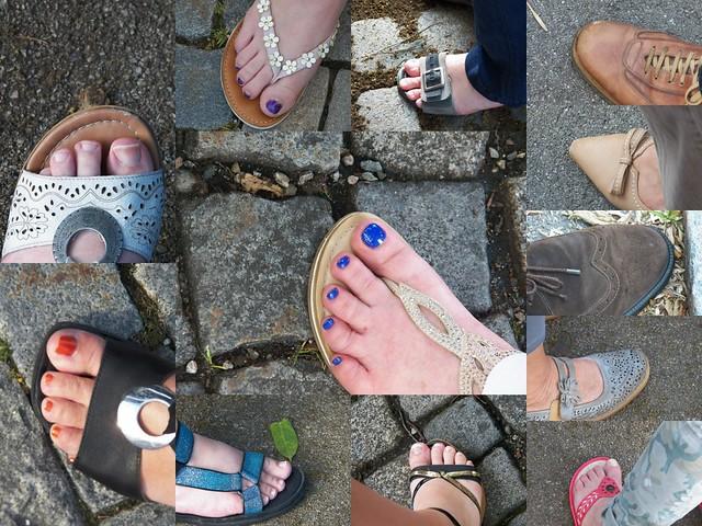 Sandalen+Schuhe