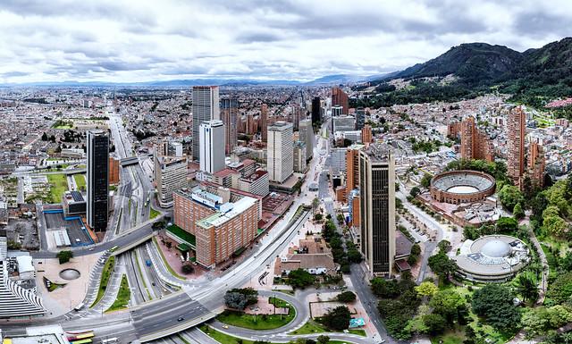 Panorámica de Bogotá 2016