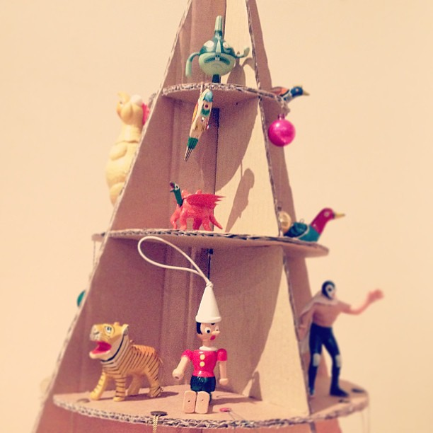Cardboard Box Christmas Tree Patent Pending Nick Morley Flickr