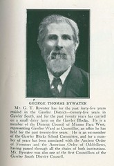 George Thomas Bywater - Civic Record SA Councils 1921 - 1923
