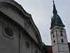 Jindřichův Hradec, věž Proboštského kostela Nanebevzetí P. Marie, foto: Petr Nejedlý