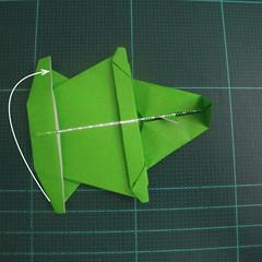 การพับกระดาษเป็นรูปแรด (Origami Rhino) 028