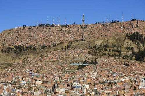 city travel houses people mountain snow southamerica landscape photography haze community scenery peak dry sunny bolivia security erosion views geology lapaz arid altiplano highaltitude dwellings topography mountainous eriagn ngairelawson ngairehart