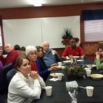 Christmas Luncheon with TUMI staff and volunteers