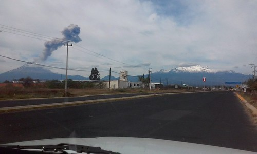 Popocatepetl e Iztaccihuatl. Puebla, México