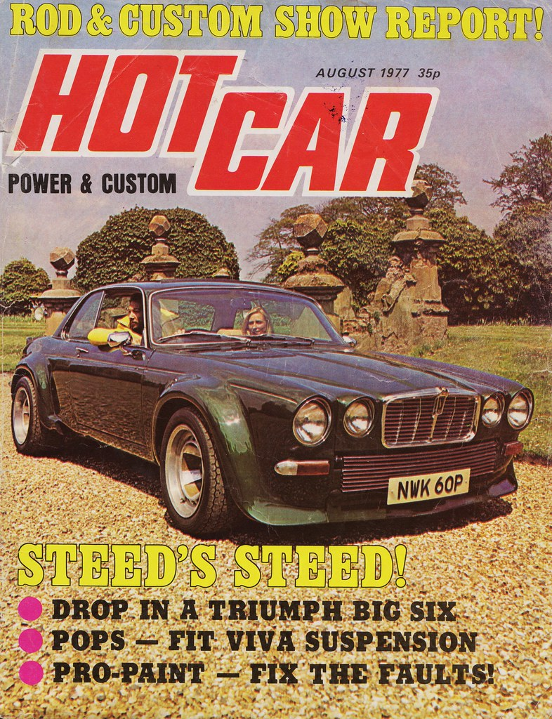 Hot Car Magazine Uk August 1977 Opel Fruits Flickr