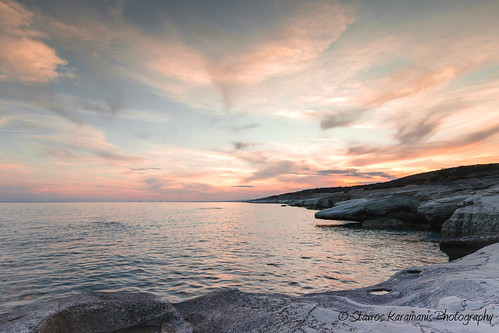 sunset sea sky cliff seascape canon landscape seaside colours afternoon ngc cost cyprus tokina dslr f28 limassol t3i roks landscapephotography canonphotography canonusers skylovers leefilters 1116mm dxii skydrows