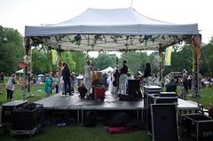 behind the stage, Het Park, Rotterdam #zomerzondagen #ricohgr