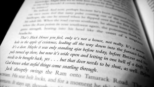 Black house text | by stasialbean