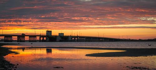 newyork sunrise unitedstates longisland shirley sunrises sunup daybreak smithpoint timeofday afulki