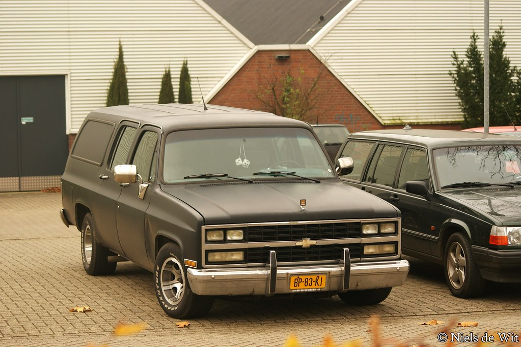 1980 Chevrolet Suburban Bp 83 Kj Horsterweg Ede Flickr