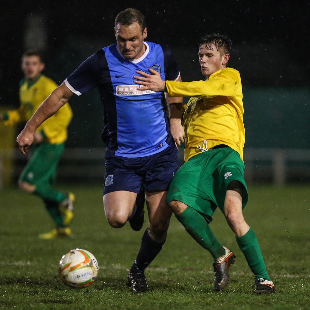 Hitching Town 2 Arlesey Town 0 Evo-Stik Southern League Premier