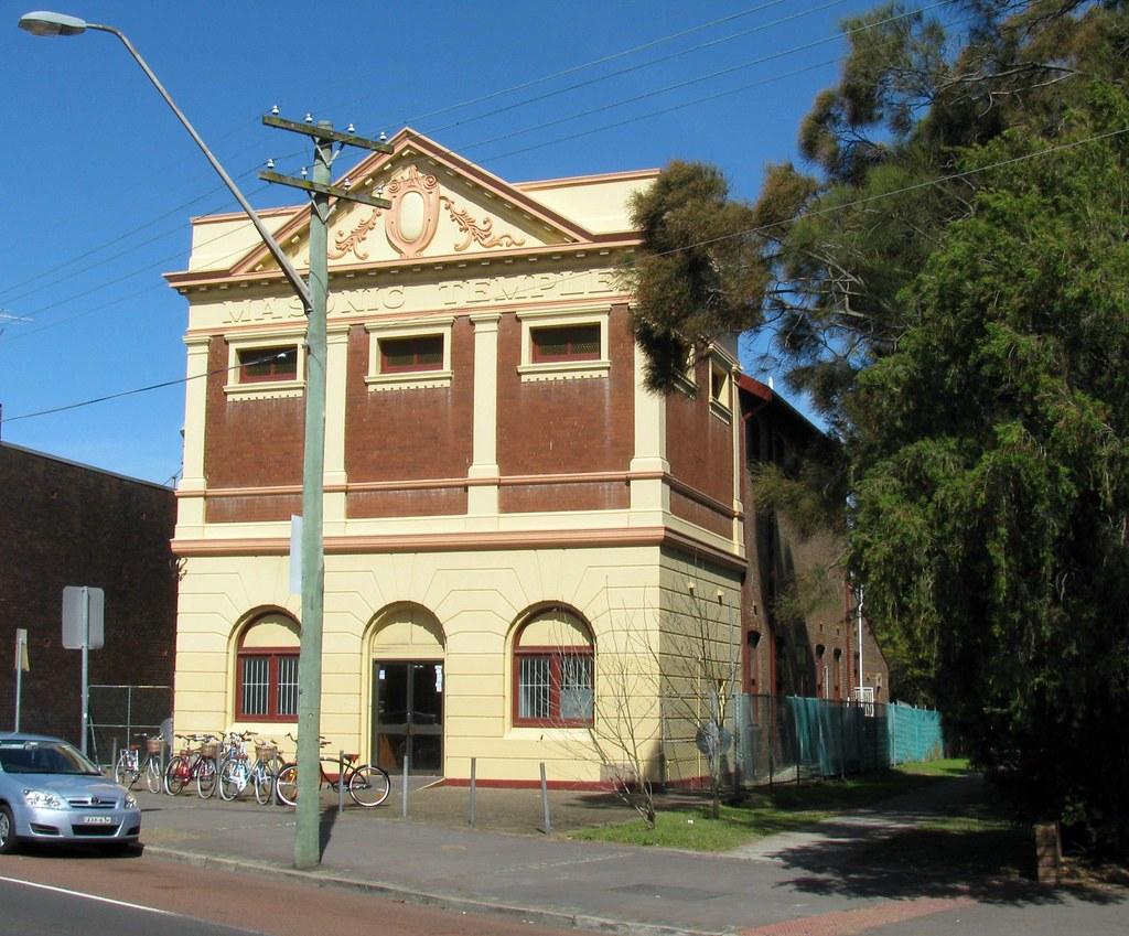 Masonic Temple, Kensington, Sydney, NSW.
