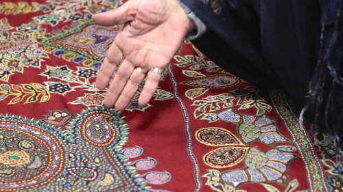 Because of my BLOOD • Pateh Needlework • Kerman • IRAN-9 | by OXLAEY.com