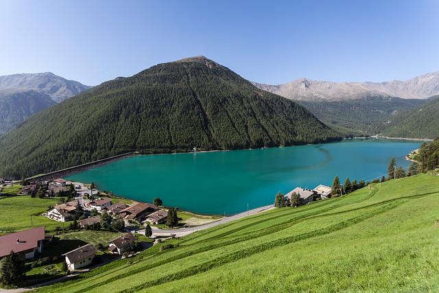 Lago di Vernago- Vernagt Stausee