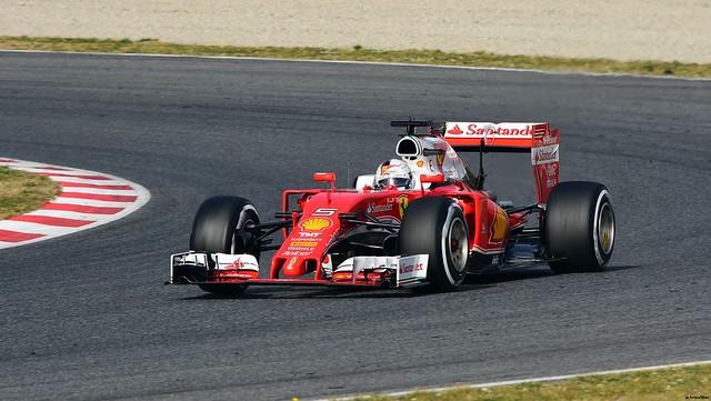 FERRARI / Sebastian Vettel / SCUDERIA FERRARI