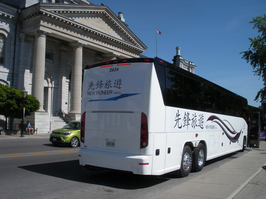 New Pioneer Travel >> Can Ar Coach 2634 Mci J4500 New Pioneer Travel New Pione
