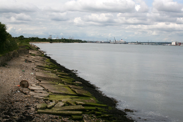Southampton Water from Hythe