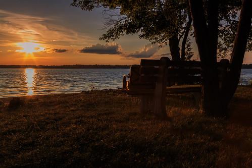ca sunset ontario canada lakepark hbm carletonplace mississippilake lakeparkroad