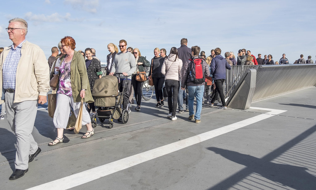 Worldwide Photowalk Copenhagen 2016 - The new inner bridge in Copenhagen harbour