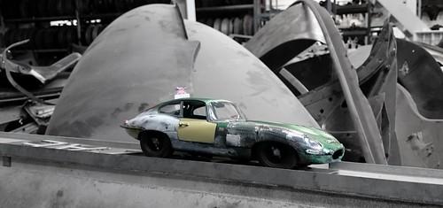 Jaguar E type rusty (11) | by www.MODELCARWORKSHOP.nl