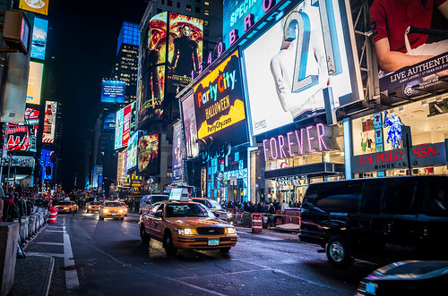 Times Square NYC | by Heath Cajandig