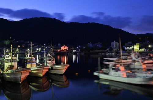 sunset sea water japan night boats coast seaside nikon photographer harbour ships ngc calm hiroshima fukuyama