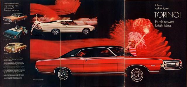 1968 Ford Torino Advertisement Life December 22 1967