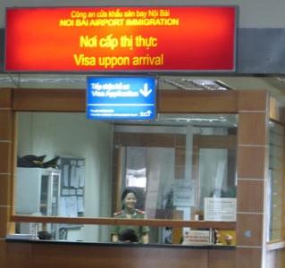 Visa on arrival en el aeropuerto