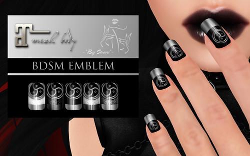 Maitreya - BDSM Nails | by Snow Frostwych