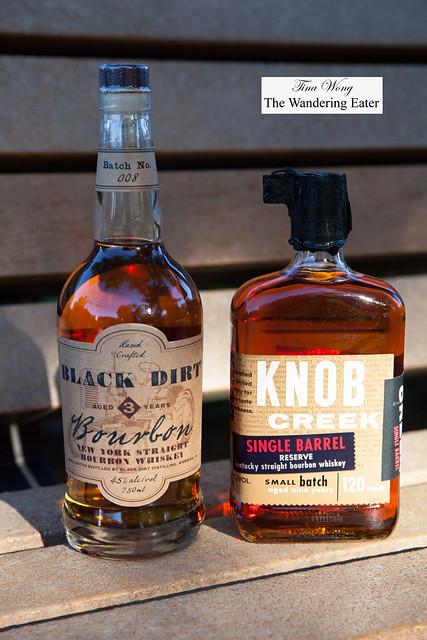 Black Dirt Bourbon and Knob Creek Single Barrel Reserve Bourbon