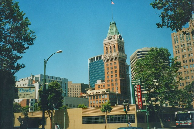 Oakland California ~ Tribune Tower ~ Old 1998  Film