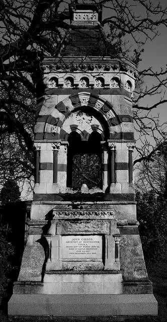 The grave of John Gibson