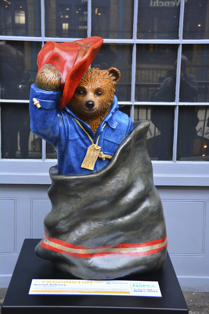Paddington Bear Trail, Special Delivery By Ben Whishaw
