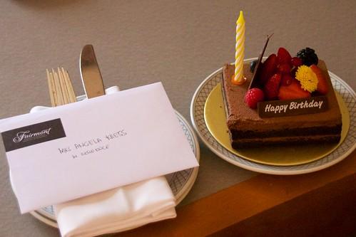 Fairmont Birthday Cake | by resetyoursoulblog