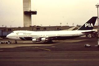 PIA B747-200 at JFK
