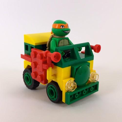 Ninja Turtles' Party Wagon