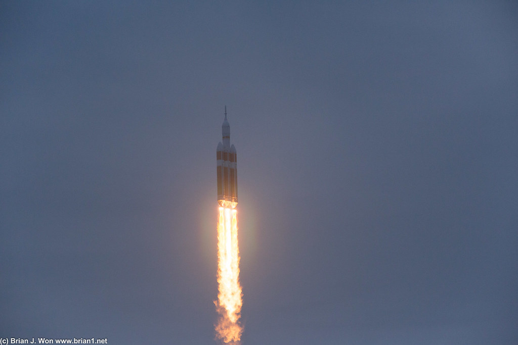 Orion first flight