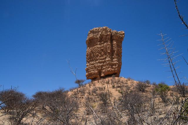 Finger Rock - Namibia