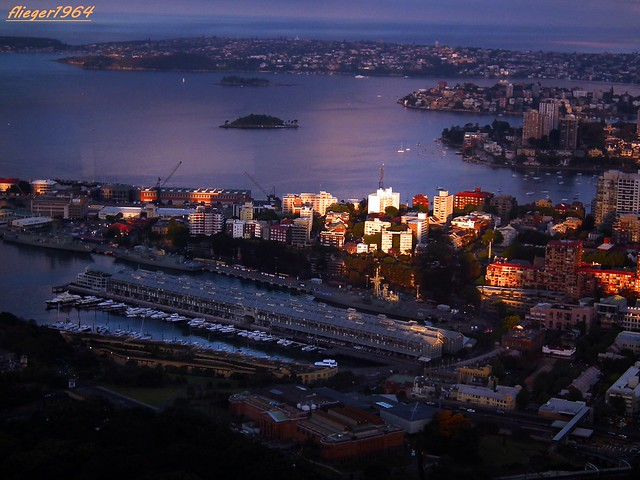 Sydney im Abendlicht