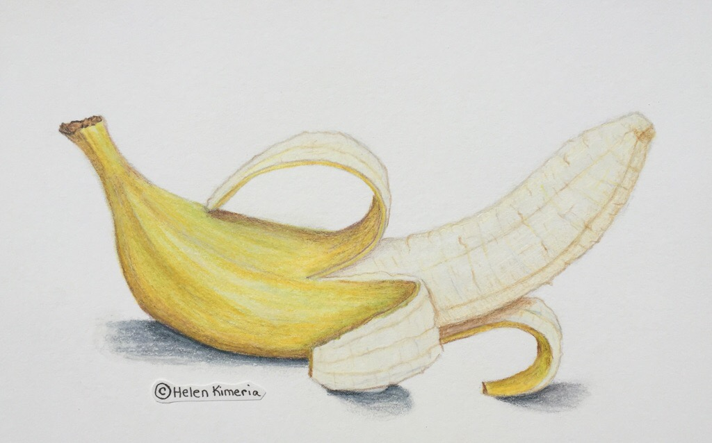 Banana Color Pencil Instagram Www Instagram Com Elenik Flickr