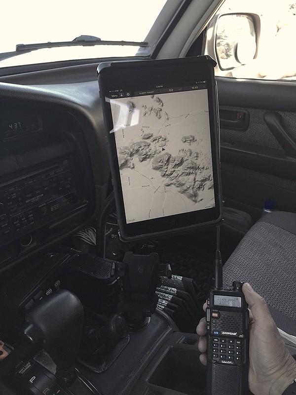 Apple iPad Mini / GPSkit / RAM Mount ADV80