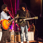 Thu, 14/07/2016 - 3:54pm - Michael Kiwanuka performs for WFUV Radio at the Cutting Room in New York City, April 3, 2016. Hosted by Rita Houston. Photo by Gus Philippas