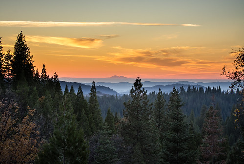 california sunset sky mountains fall nature colors fog landscape nikon sierra nikkor goldenhour 2014 d7100 stanislausnationalforrest mitchellcipriano