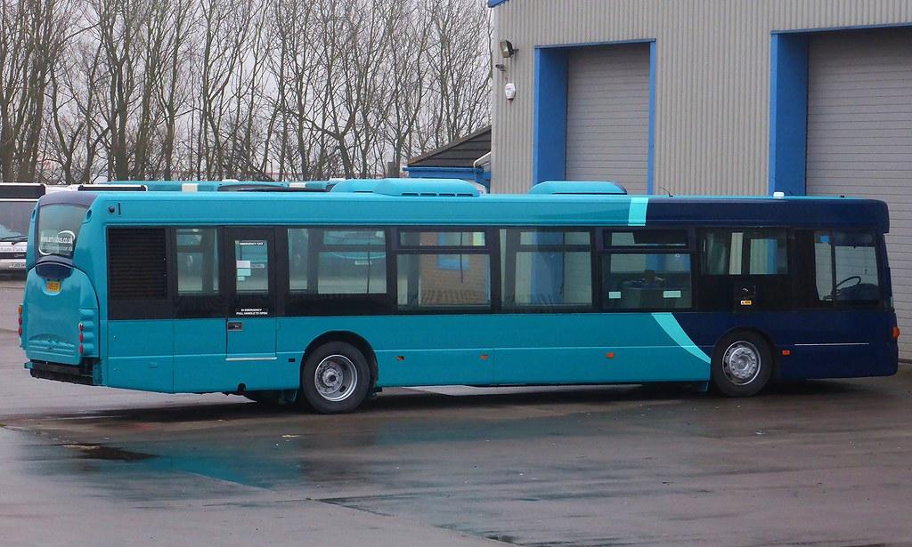 Arriva North East 4643 Cx05eov Arriva North East S
