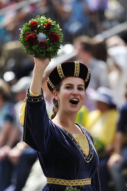Landshuter Hochzeit - Adelige Dame 7