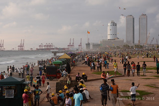 Colombo. Galle Face Green.