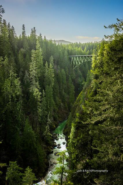 High Steel Bridge, WA