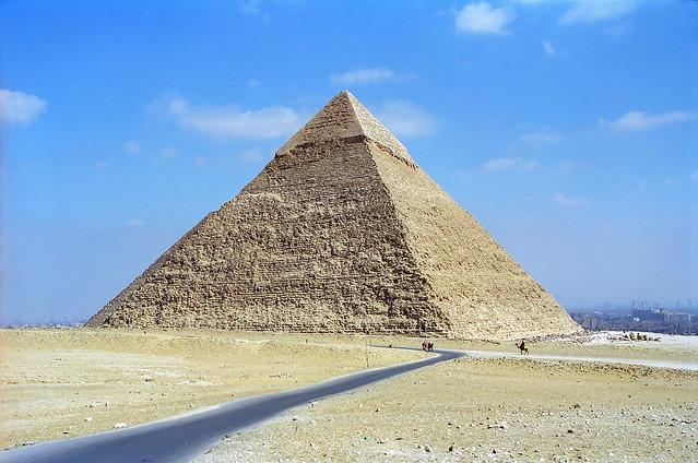 Pyramid of Khafre, Giza, Egypt (circa 2570 BC)