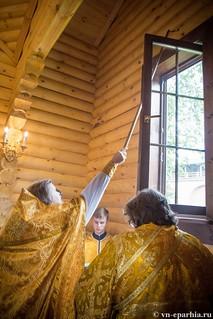 Освящение храма в Кремле 130